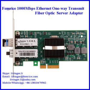Quality 1000Mbps Gigabit Ethernet PCI Express x4 Bus Interface Single Transmit Port Server Network Adapter 1G2PF571-SFP-TX wholesale