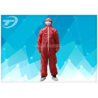 Quality Polypropylene Spunbond Disposable Coverall Suit With Hood Waterproof wholesale