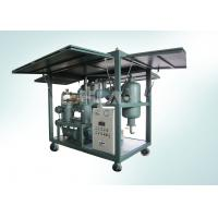 Low Noise Transformer Mobile Oil Purifier Double Stage Environmental Friendly