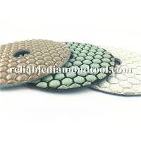 Quality Custom Abrasive Diamond Floor Polishing Pads , Durable Dry Diamond Hand Polishing Pads wholesale