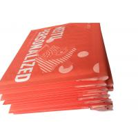 Quality Red Custom Printed Kraft Bubble Mailer , Mailing Bubble  Envelopes wholesale