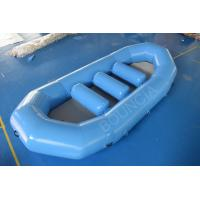 Quality CE Inflatable White Water Rafting Boats With Detachable Drop Stitch Floor wholesale