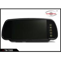Quality Button Control Reversing Mirror Monitor , 7 Inch Rearview Mirror Lcd  Monitor wholesale