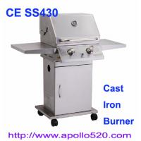Quality Deluxe 2 Burner Gas BBQ with cast iron 2 burner wholesale