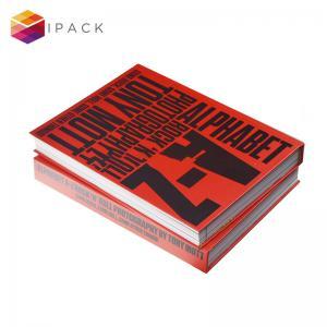 China SMETA Eco Friendly Matte Finish Hardcover Book Printing on sale