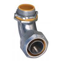 Quality 1 Inch Liquid Tight Angle Connector , Electrical Conduit Elbow Fittings Polished wholesale