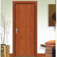 Quality Finished Wooden Interior Doors Solid Wood Entry Doors For Guestroom wholesale