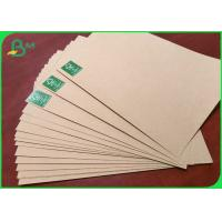 Quality Virgin Fiber Unbleached Kraft Paper 300gsm Superior strength Recyclable wholesale