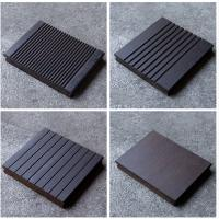 China Fireproof Bamboo Flooring Outdoor Decking , Square Vertical Bamboo Flooring on sale