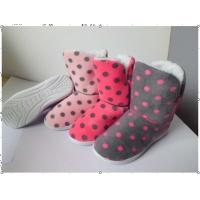 Quality Custom Womens Knitted Boots / House Slippers with Different Color wholesale
