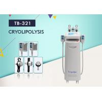 Quality 1800W Cryolipolysis Slimming Machine For Cellulite Removal , Vacuum Cavitation RF Fractional  Machine wholesale