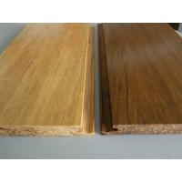 Cheap Click lock Natural Strand Woven Bamboo Flooring for sale