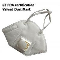 Quality Outdoor Valved Dust Mask , Anti Pollution Mask Good Air Permeability wholesale