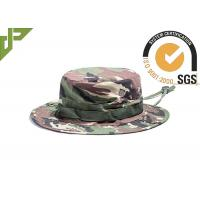 Quality Woodland Multicam Air Force Boonie Hat , Unisex Military Tactical Hats For Outdoor Sports wholesale