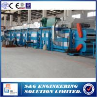 Quality Roof Wall Panel PU Sandwich Panel Production Line With Double Belt Conveyor wholesale