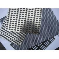 Buy cheap Roll Bending Perforated Wire Mesh Iron / Stainless Steel / Copper / Aluminum / from wholesalers