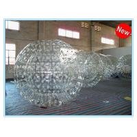 Quality PVC Clear Inflatable Zorb Ball / Inflatable Human Hamster Ball For Inflatable Zorb Ramp wholesale