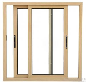 Quality 1.4 MM Thickness Horizontal Slider Window / Small Aluminum Sliding Window Sash wholesale