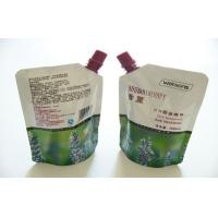 Buy cheap Resuable Laminated Material Spout Pouch Packaging Food Grade Moisure Proof product