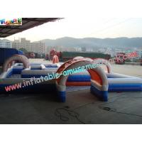 Quality Water-proof Inflatable Sports Games , Inflatable Car Race Track wholesale