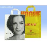 China Reusable One Layer Custom Printed LDPE Plastic Bags For Bookstore / Clothing Shop on sale