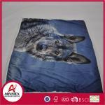 Quality Polyester Micro Mink Comforter Micromink Blanket ,Panel screen printed micromink blanket wholesale