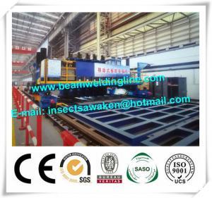 China Hydraulic Longitudinal T Beam Welding Machine With Gantry Framework on sale