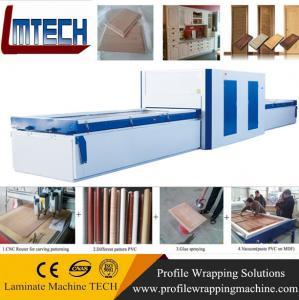 China vacuum membrane press machine door making machine on sale