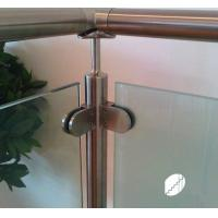 Quality Stainless Steel clamp for glass stair railing wholesale