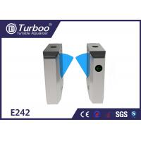 Quality Durable Retractable Flap Barrier Turnstile Biometric Access Control System wholesale