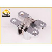 China 180 Degree Zinc Alloy Soss Invisible Concealed Hinge For Folding Wood Door on sale