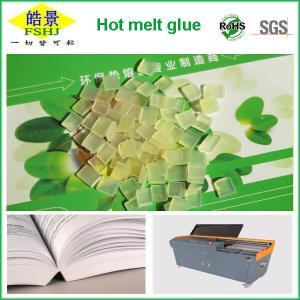 Quality Light Yellow Granule EVA Hot Melt Adhesive For Book Binding Glue wholesale