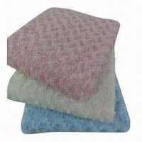 Quality Rose/baby/PVC fleece/2-layer blankets, keeps warm wholesale