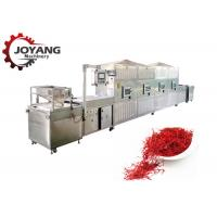 Buy cheap Stainless Steel Saffron Seed Microwave Drying And Sterilization Machine / from wholesalers