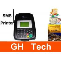 Quality Hand Held GPRS GSM SMS Printer For Receipt Printer 128*64 LCD Display wholesale