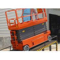 Quality Mobile Safety Electric Work Platform Lifts With Emergency Stop Button wholesale
