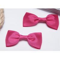 Quality High End Bow Tie Ribbon , Hair Elastic Bands Home Textile Purple wholesale