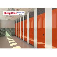 China Airport Phenolic Toilet Partitions , Easy Clean Compact Laminate Toilet Partitions on sale