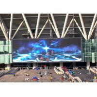 China Remote Control Outdoor Full Color LED Display Screen Adjusted Brightness on sale