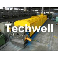 Quality 7.5Kw 20 Forming Station Custom Downpipe Roll Forming Machine For Rainwater Downpipe wholesale