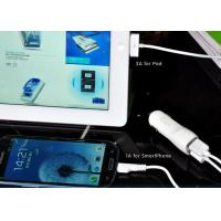 Cheap 5V 1A / 2.1A Automatic Car Charger Double Output For iPhone / iPad for sale