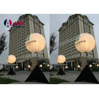 Cheap Large Led Outdoor Advertising Inflatables White Tripod Ball Stand Light Balloon for sale