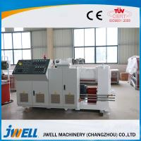 Quality Low Density Wall Board Single Screw Extruder With Film Coating Equipment wholesale