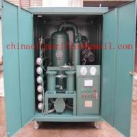Quality Double-Stage Vacuum Insulating Transformer Oil Purifiers wholesale