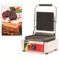 China Electric Panini Griddle Counter Top Single Plate CE Approval Panini Griddle FMX-WE173B on sale