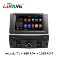 Quality Android 7.1 7 Inch Peugeot DVD Player PX3  4Core With AUX-IN Map GPS wholesale