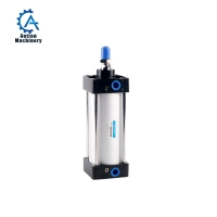 China Spare Parts Mills Small Compressed Air Cylinder Standard Pneumatic Double Acting Air Cylinder on sale
