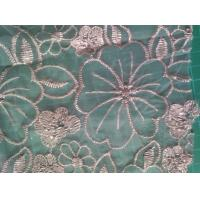 Quality Polyester embroidered Lace Fabric wholesale