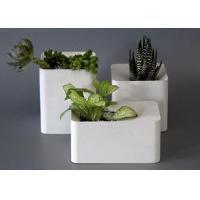 Buy cheap Large Flower Pot Molds Silicone Concrete Square Vase Custom Cement Flower Pot from wholesalers