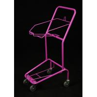 China Professional Fashionable 4 Wheeled Shopping Trolley , Foldable Shopping Cart on sale